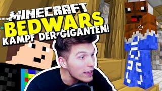 KAMPF DER GIGANTEN - DAS SCHOKO BATTLE! ✪ Minecraft Bedwars Woche Tag 125 mit GommeHD