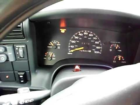 1997 chevy blazer abs light issues & recent repairs recap