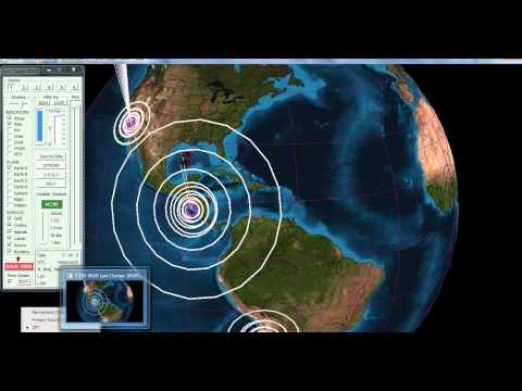 7.4 Earthquake OFFSHORE EL SALVADOR Tsunami Warning!! 8-27-12