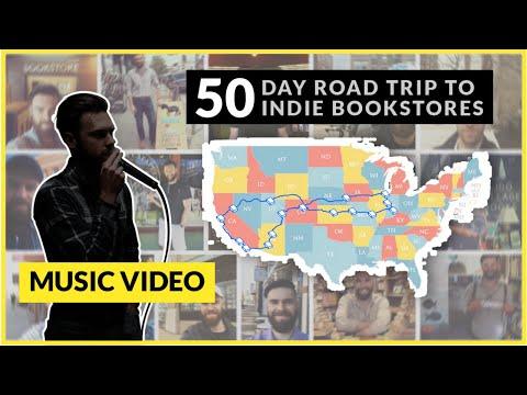 Mason Engel - Book 50 (bookstore Road Trip Music Video 2019)