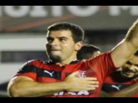Gols, Vitória 3 x 2 Bragantino - Copa do Brasil 22/02/2017