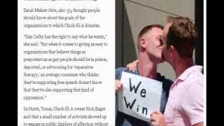 The gay Kiss-In is amazing proof the Feminist Gender-War is growing and destroying society!