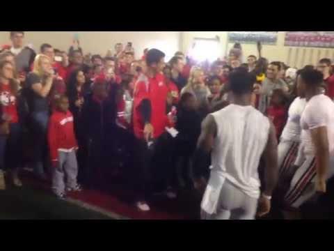 Ohio State Football NaeNae & Dougie Dance