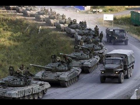 Войска России вдоль границы Украины