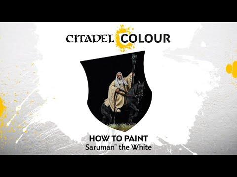 How to Paint:  Saruman™ the White