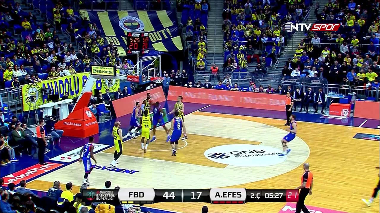 Basketbol Süper Ligi 17. Hafta: Fenerbahçe Doğuş - Anadolu Efes