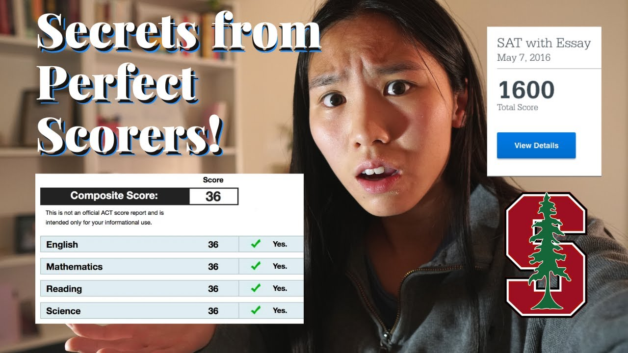 Acing the SAT/ACT - Top Strategies for Getting a PERFECT SCORE 🎉