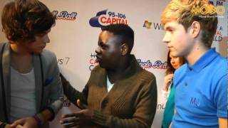 One Direction - MOBO TV 95-106 Capital FM Jingle Bell Ball