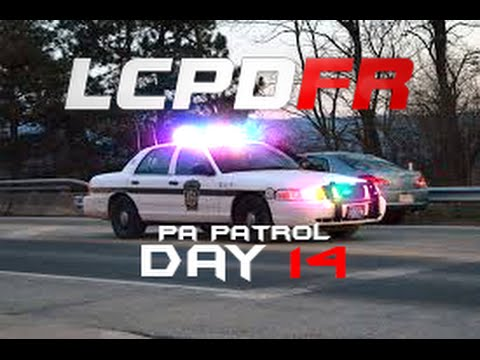 GTA 4 LCPDFR Day 14| Pennsylvania State Police