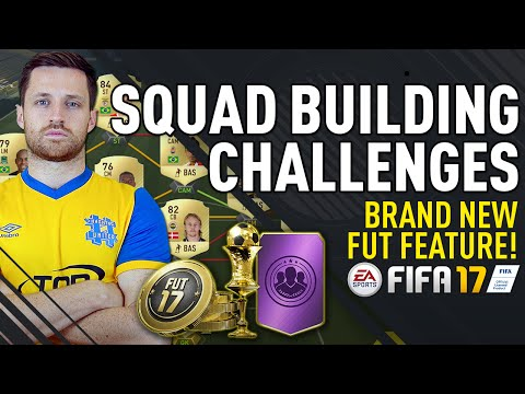 MY FIRST SQUAD BUILDING CHALLENGES! - FIFA 17 ULTIMATE TEAM