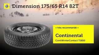 TCS test de pneus d'hiver 2014