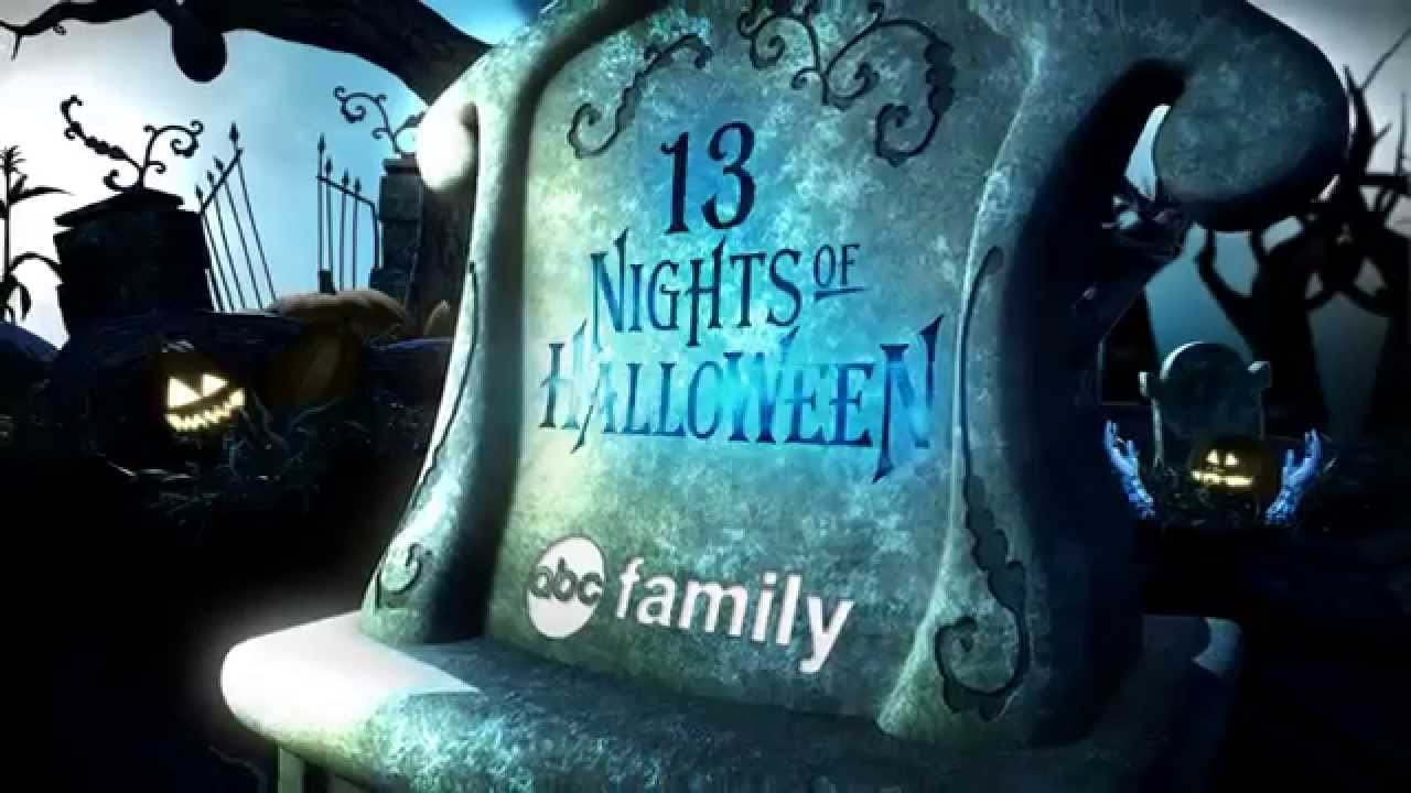 abc family rebrand 13 nights of halloween youtube