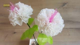 Cara Membuat Bunga dari Plastik Kresek yang Simple | Mudah Sederhana