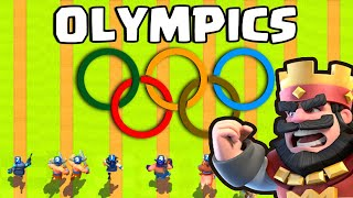 Clash Royale Olympics | Who's the Fastest ? Royal Ghost ? Hog Rider ?