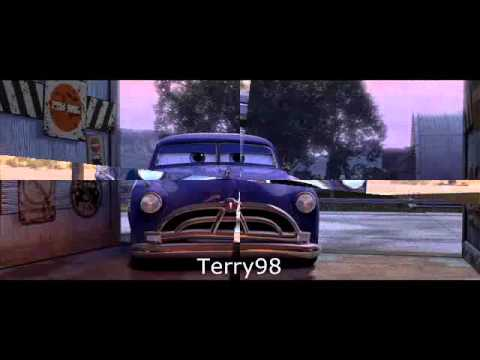 lightning mcqueen doc hudson youtube. Black Bedroom Furniture Sets. Home Design Ideas