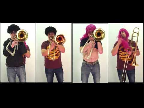 OMI - Cheerleaders (Trombone cover by Whitepotato)