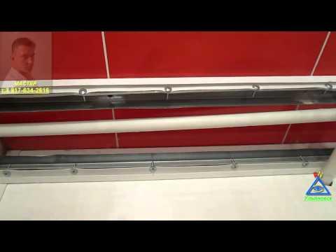 Видео Ремонт ванной панелями