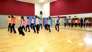 Down On The Bayou - Line Dance (Dance & Teach in English & 中文)