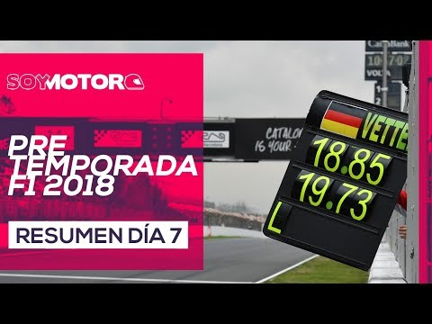 F1 2018 Test Barcelona, día 7 – Directo tarde