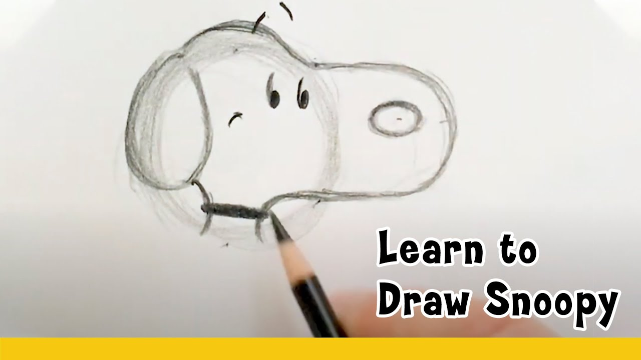 Sketch School at Home SNOOPY