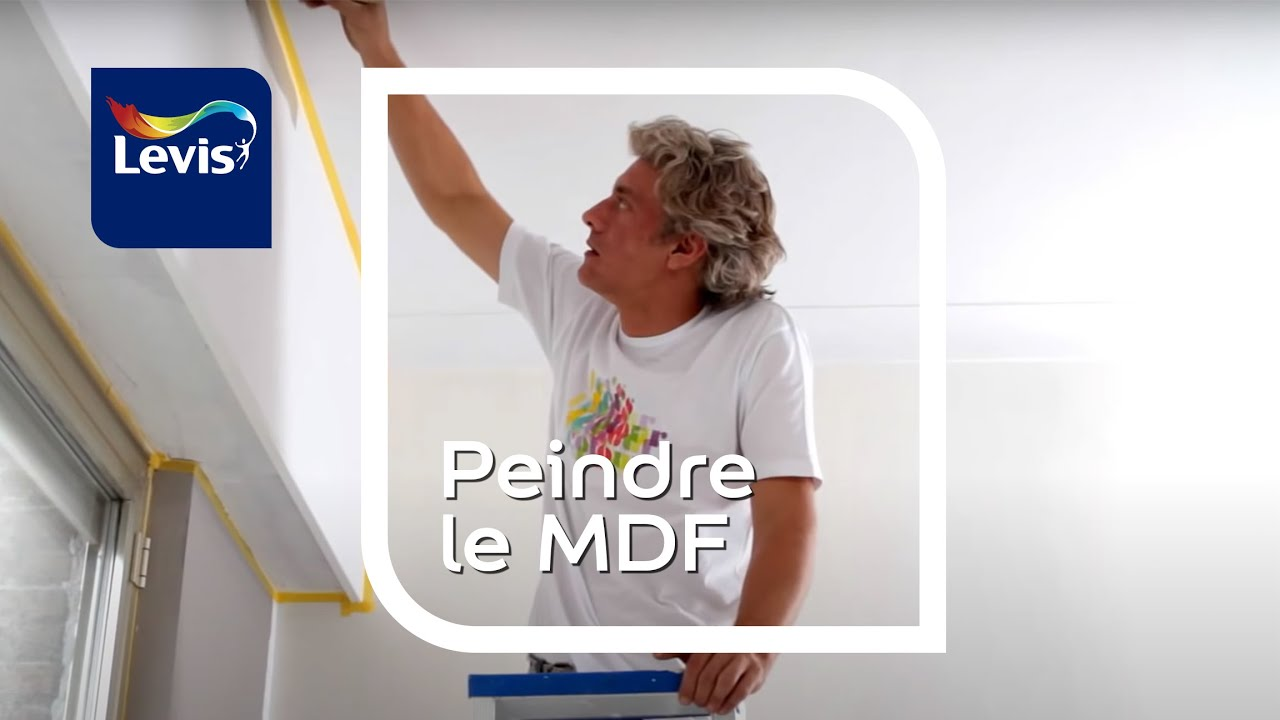 Comment peindre le mdf ?   youtube