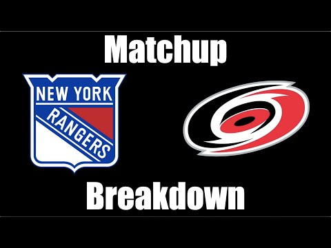New York Rangers vs Carolina Hurricanes Matchup Breakdown