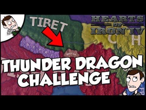 Hearts of Iron 4 HOI4 Thunder Dragon Empire Challenge
