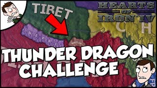 Hearts of Iron 4 HOI4 Thunder Dragon Empire Challenge