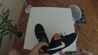 Unboxing #1 Nike Roshe Run aliexpress unboxing  + on feet and dance