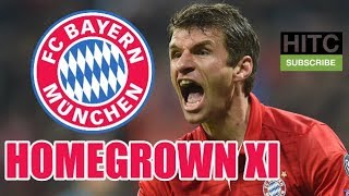 Bayern Munich Homegrown XI