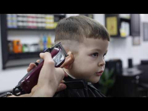Видео как стригут мальчиков