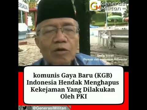 Taufik Ismail Bicara Sejarah Pemberontakan PKI Pertama Tahun 1948 di Madiun