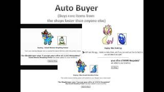 (2013) Neopets Hack and Cheat: Neopoints Money Generator, Autobuyer, Pound Auto-adopter Program
