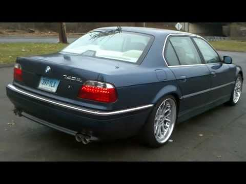 1995 BMW 740il new exhaust today