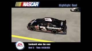 Nascar 2001 PS2 PCSX2 (PC) HD 60fps gameplay (EA, 2000)
