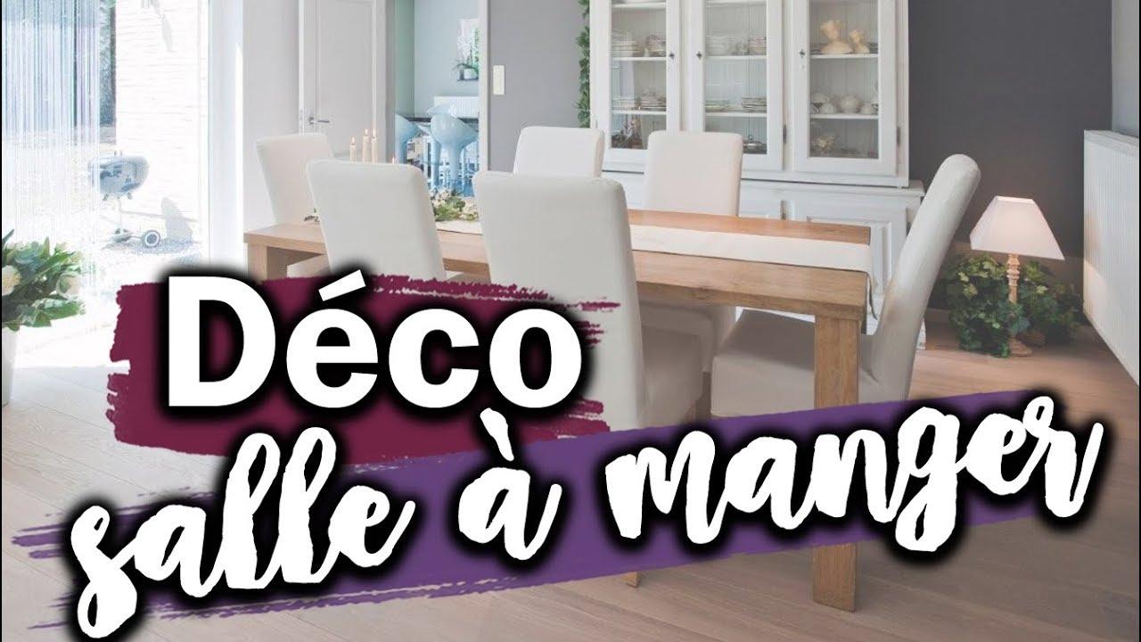 comment decorer une salle a manger
