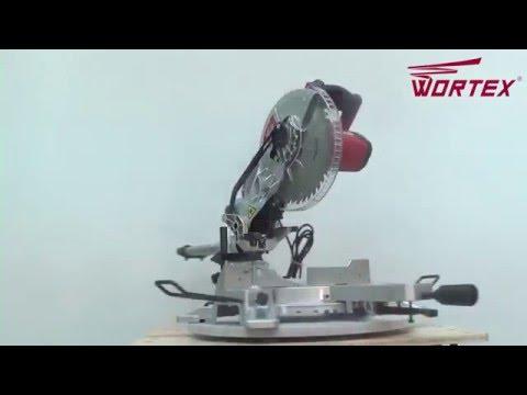 Видео обзор: Пила торцовочная WORTEX MS 2116 LM