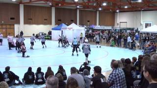 Big O: Humbolt Roller Girls vs Sick Town Derby Dames 5/18/13