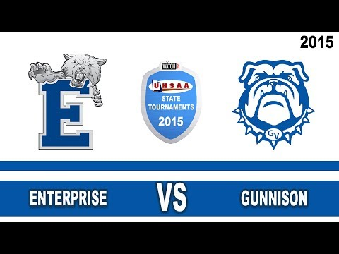 2A Baseball: Enterprise vs Gunnison Valley High School UHSAA 2015 State Tournament Quarterfinals