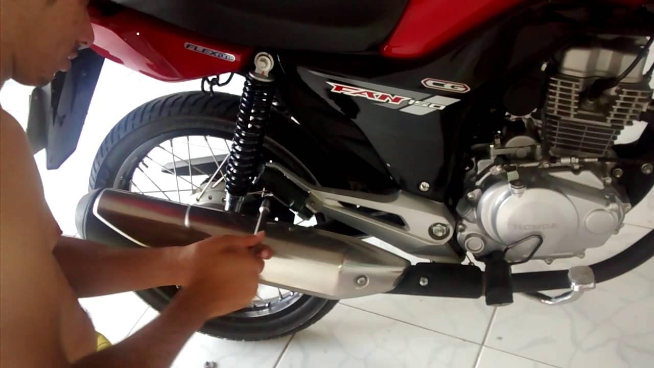 Resultado de imagem para moto sem descarga