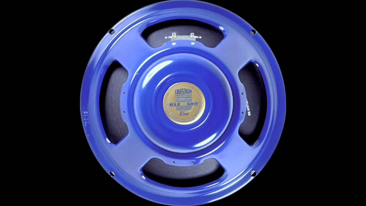 Celestion Blue VS Gold