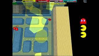Pac Man venhis dos veces y yo perdiii; C en Roblox