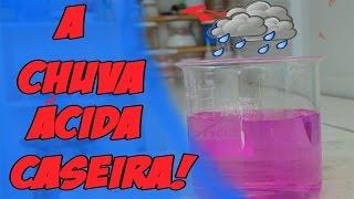 Como fazer chuva ácida em casa - [Experiencia de química]