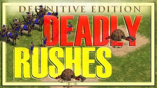 Three DEADLY rushes! - AoEDE Beginner Guide