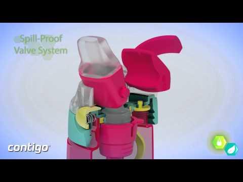 Contigo AUTOSPOUT® Gizmo Flip Kids Water Bottle