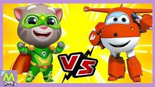 Говорящий Том Погоня Героев vs Супер Крылья Джетт и его Друзья.Какая Игра Круче