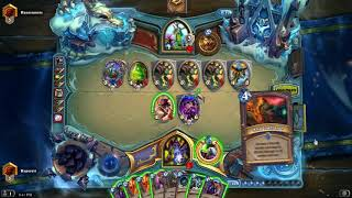 Hearthstone Witchwood Even Warlock Road To Legend Long Video
