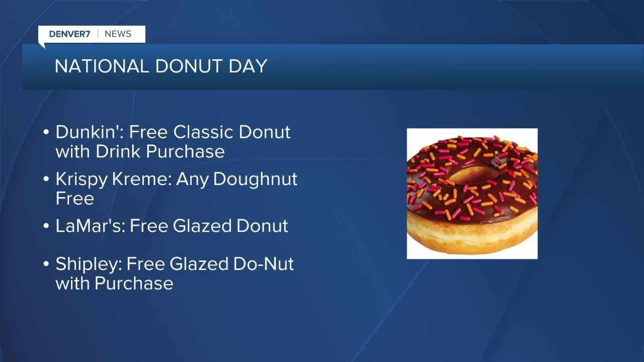 National Donut Day 2021 deals: Where to get freebies, discounts in ...
