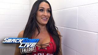 does nikki have confidence in natalya as coach of their team smackdown live fallout nov 1 2016