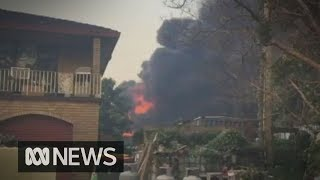 Emergency Bushfire Alert Issued As Nsw Fires Flares | Abc News